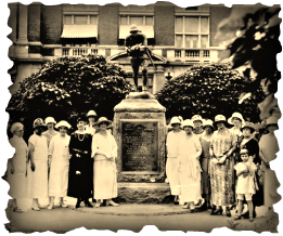 1924 Dedication of World War I Doughboy statue